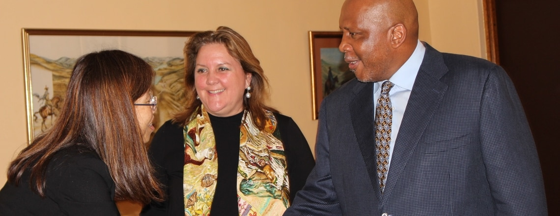 MCC Delegation Visits Lesotho to Discuss New Compact Development